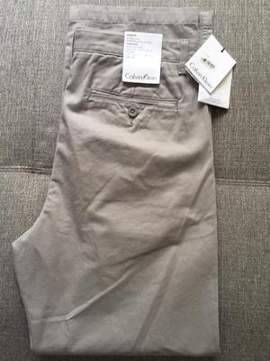 Pantalon Sport Calvin Klein Glacial Tint B670 Talla 32