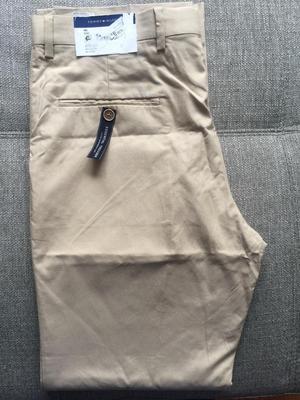 Rebaja total Pantalon Sport Tommy Hilfiger Talla 32 Khaki