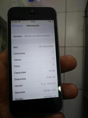 iPhone 5 con Huella de 16 Gb Libre