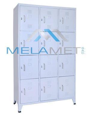 locker, casillero 12 puertas