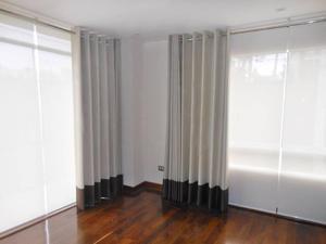 modernas cortinas,argollas acero o madera, persianas,