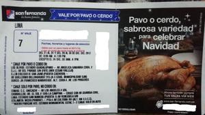 VENDO VALE DE PAVO 7KG