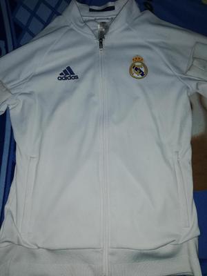 Casaca Adidas Original Del Real Madrid L