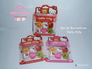 Set de Borradores Hello Kitty