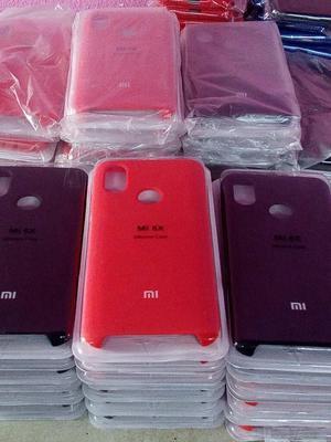 Case Silicona Cover Xiaomi Mi A2 /mi 6x Con Logo Original Mi