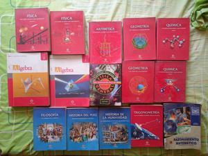 Colección De Libros Preuniversitarios Lumbreras