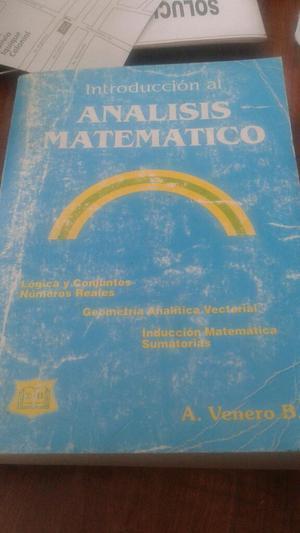 Introduccion Al Analisis Matematico