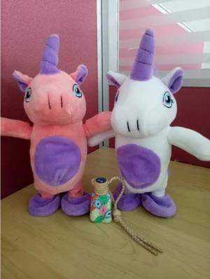 Peluche Unicornio Camina Cuando Hablas Graba Y Repite