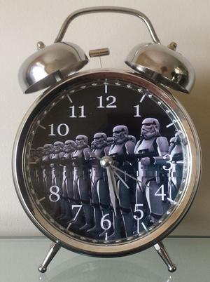 Reloj Despertador Est Vintage Star Wars Soldado Stormtrooper