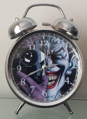 Reloj Despertador Estilo Vintag Comic Joker La Broma Asesina