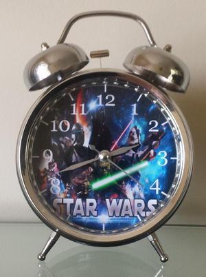 Reloj Despertador Estilo Vintage Star Wars
