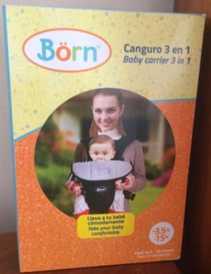 Canguro Marca Born 3 en 1