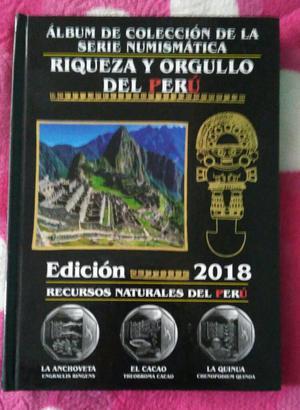 Album de Coleccion de Monedas Del Peru