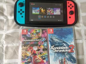 Nintendo Switch Y 2 Juegos