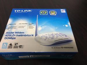 Router Modem ADSL2 mas inalambrico TP Link TDWND