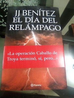 libro jj Benitez el dia del relampago original buenas