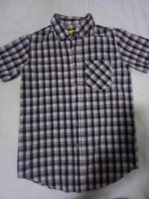 Camisa Manga Corta. Talla S