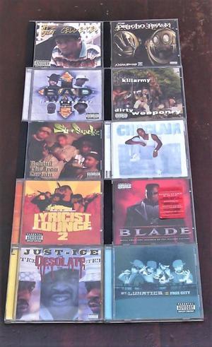 Cd De Rap Originales 40 soles c/u cd album