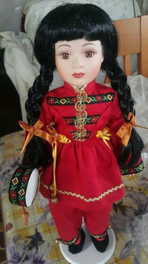 Muñeca de Porcelana Antigua Nueva