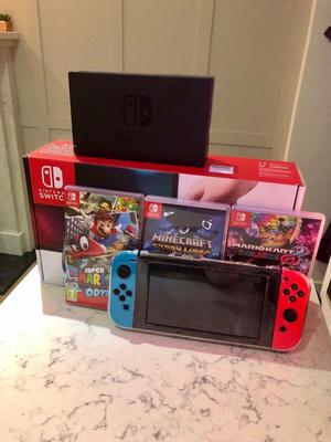 Nintendo Switch 32Gb Con Garantia