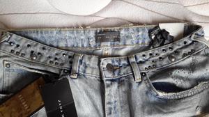 Pantalon jean de Zara nuevo original con etiquetas hombre