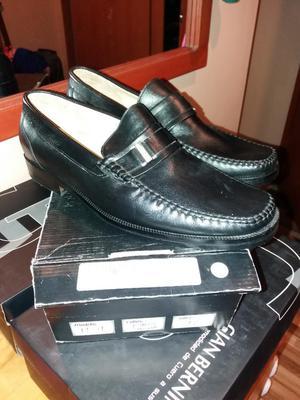 Zapatos de Cuero Original Talla 41 Nuevo