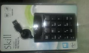 vendo teclado numerico