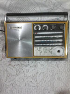 Antigua Radio Silver 4 Bandas