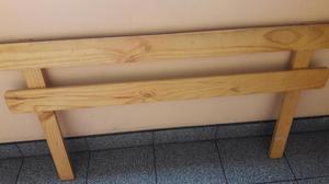 Baranda de madera para niños