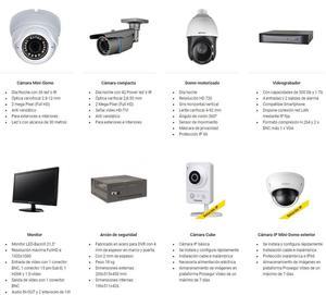 Instalación y venta de sistemas de seguridad, cámaras de