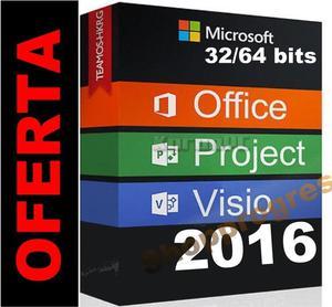 MICROSOFT PROJECT PROFESIONAL MAS VISIO MAS OFFICE 365