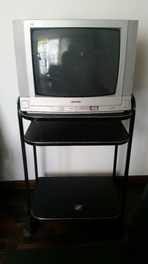 Televisor Sharp de 21 Pulgadas Mueble