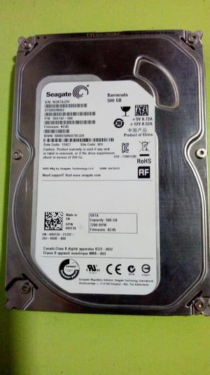 Disco Duro Seagate 500gb para PC