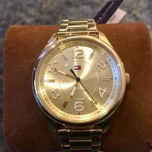 Reloj Original Mujer Dorado Nuevo Tommy Hilfiger