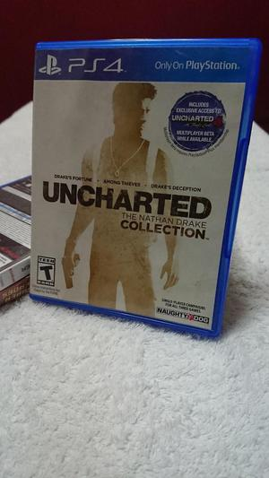 Juego Uncharted Collection Ps4