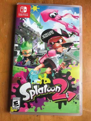 Splatoon 2 Juego de Nintendo Switch