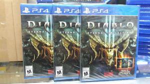 Diablo 3 III Eternal Collection Ps4 Nuevo Sellado Stock
