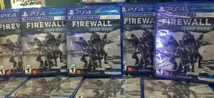 Firewall Zero Hour Vr Ps4 Nuevo Sellado Stock