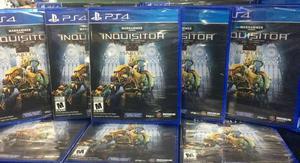 Inquisitor Ps4 Nuevo Sellado Stock