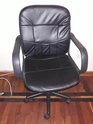 Silla Modular Giratoria Color Negro