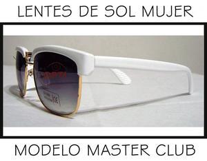 Lentes De Sol Para Mujer modelo Club Master