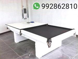 Mesa de Billar con Ping Pong 2 en 1