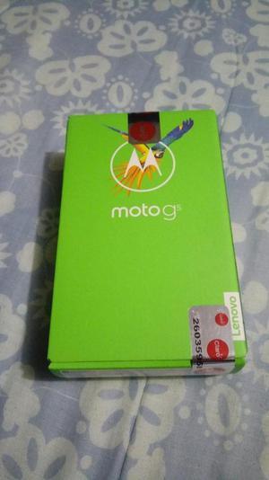 MOTOROLA G5 LECTOR D HUELLAS NUEVO EN CAJA SELLADA 480 SOLES