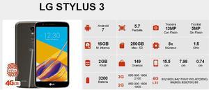 LG Stylus 3 NUEVO Tienda