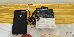 Audifonos y protector de Celular new