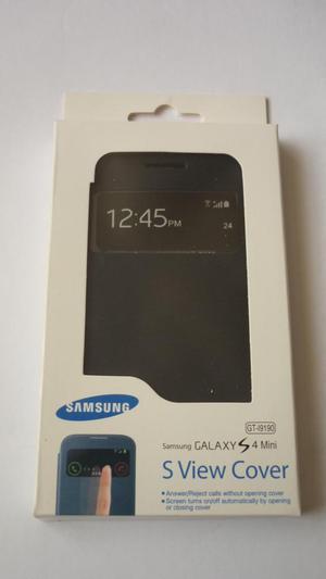 Flip S View Cover Case samsung galaxy s4 mini más Mica