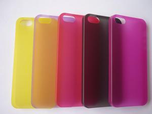 Funda Cover Case ultra delgado para Iphone 5 / 5S más Mica