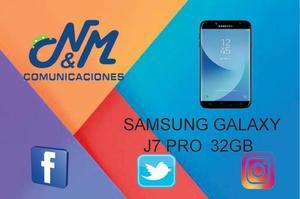 SAMSUNG GALAXY J7 PRO: 32GB, 3GB RAM, CAM 13MP. SOMOS
