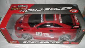 Carro Deportivo Auto Road Racer Team Power 40 cm de largo,