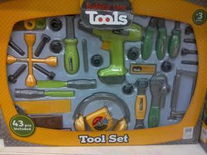 Juego de herramientas para niños 43 piezas incluidas